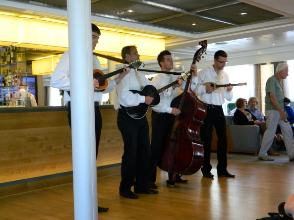 Croatian Folk Band On Board. They Were Great!