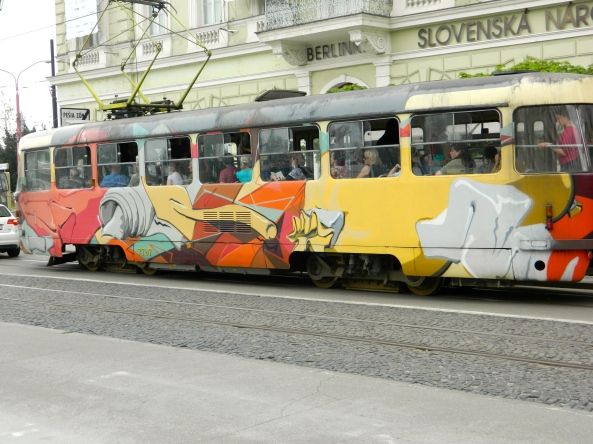 Colourful Tramcars