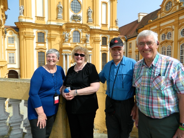 The Fab Four At Melk Monastery