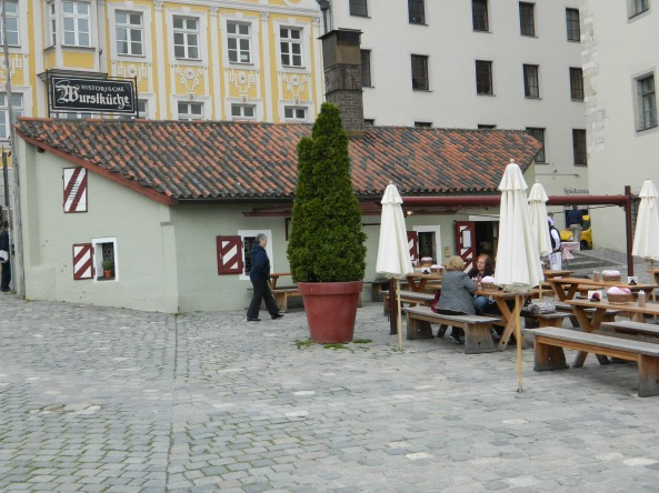 The Wurstkuche, The Ancient Sausage Kitchen, Regensberg.