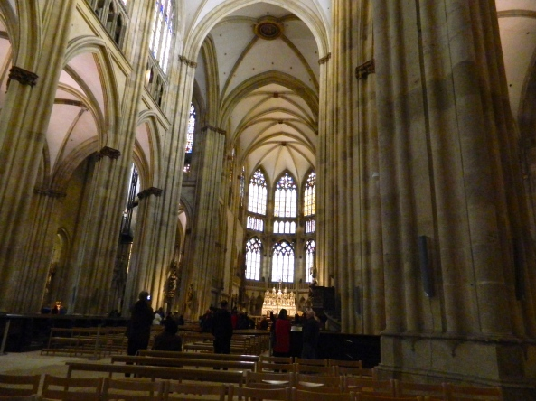 Interior Of This Massive Cathedral