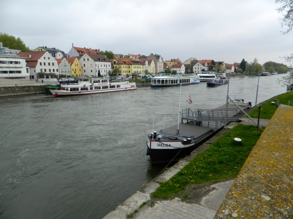 Other Craft Moored At Regensberg.
