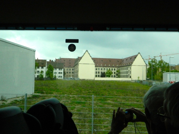Rear of Law Courts (Nuremberg) From The Bus.