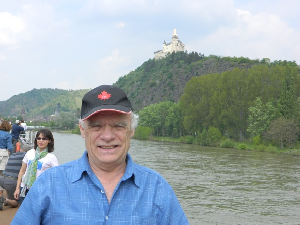 Don Hits The Sun Deck With Marksburg Castle On The Hill
