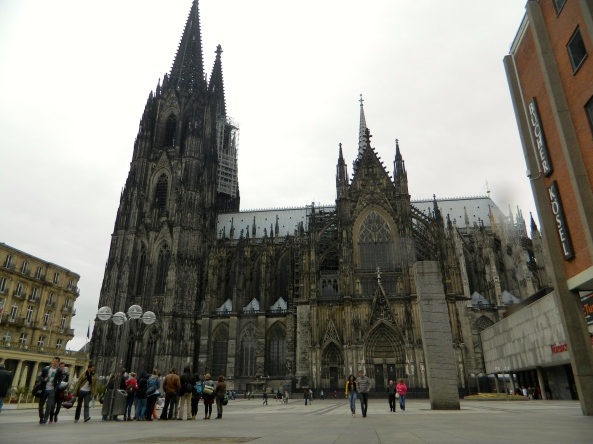 First Sight Of The Cathedral