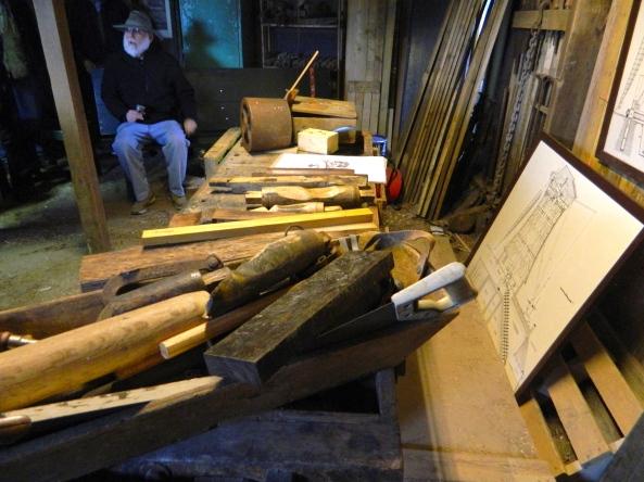 The Carpenter's Repair Shop At Kinderdijk