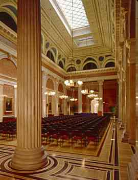 Vienna Stock Exchange Conference Room (now concert hall)