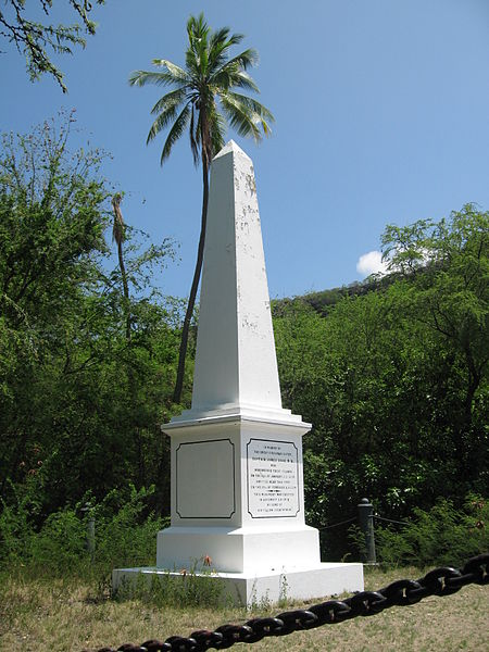 Cook Monument Kealakekua. (Courtesy of Wikipedia)