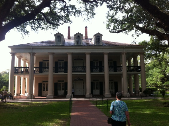 The Plantation House Close Up.