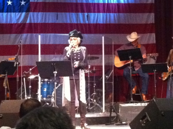 Joanne Cash Yates Sang For Us.