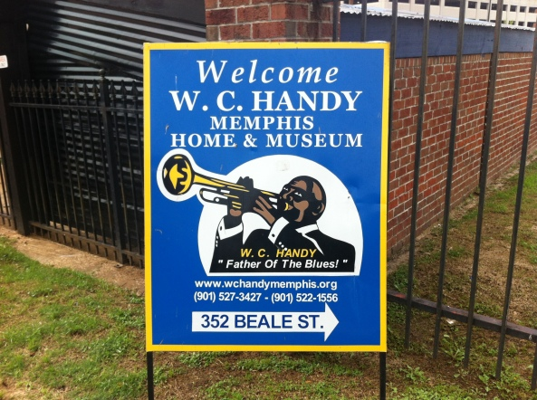 W.C. Handy's Home Now On Beale St.