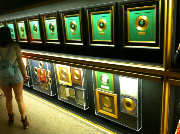 One Tiny Part Of Elvis' Trophy Room