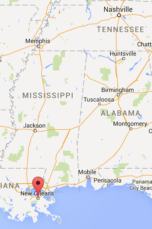 New Orleans, Memphis and Nashville