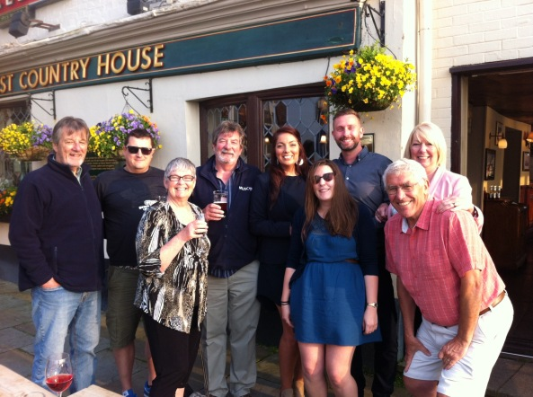 Pub night with family in Portsmouth
