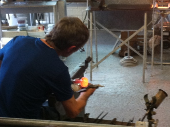 Glassblower, Isle of Wight